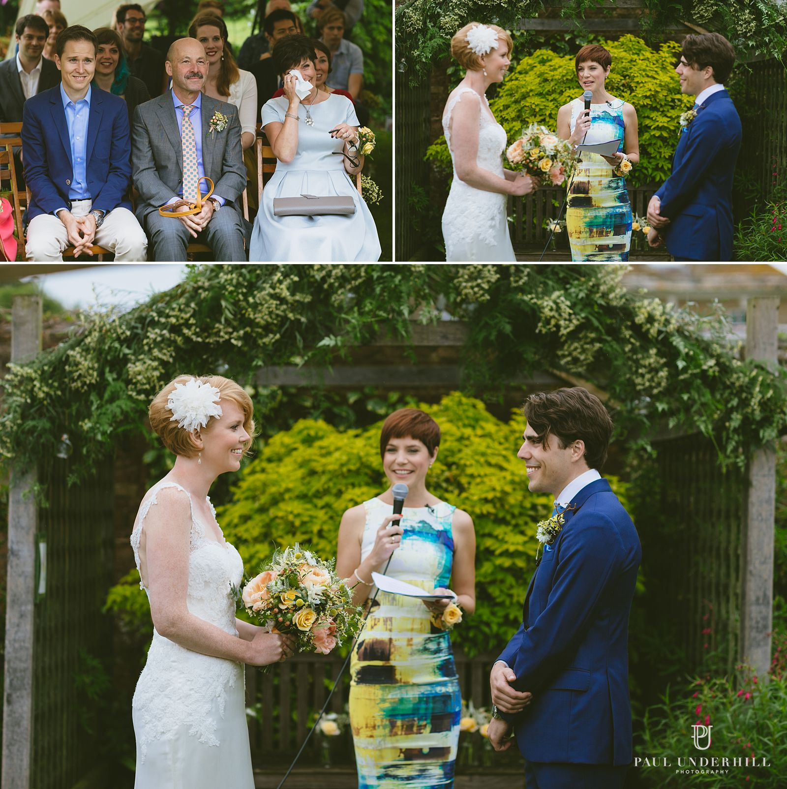 Manor House Moreton wedding ceremony