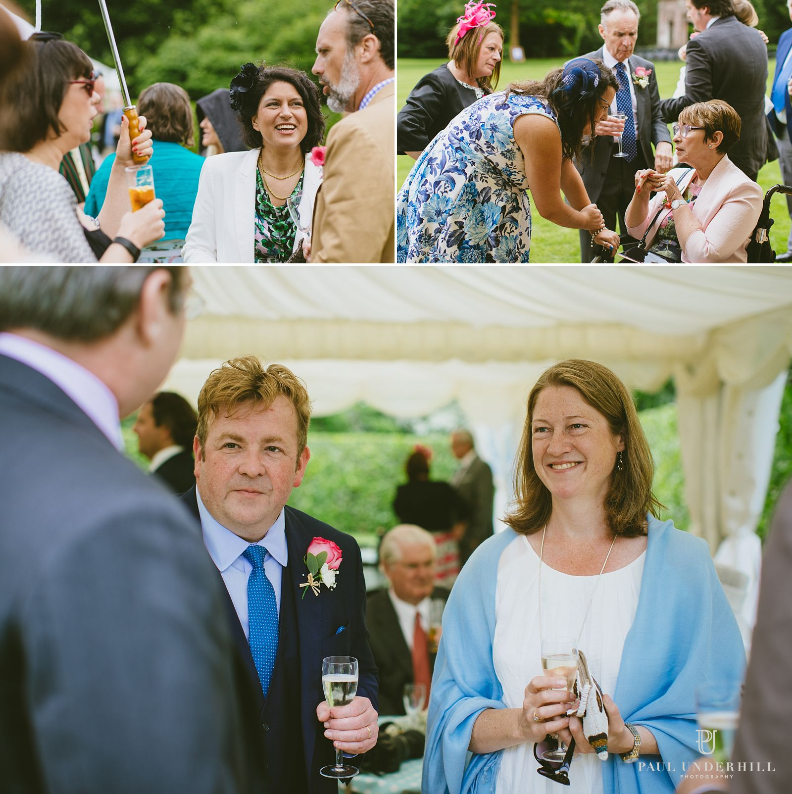 Reportage photography wedding guests