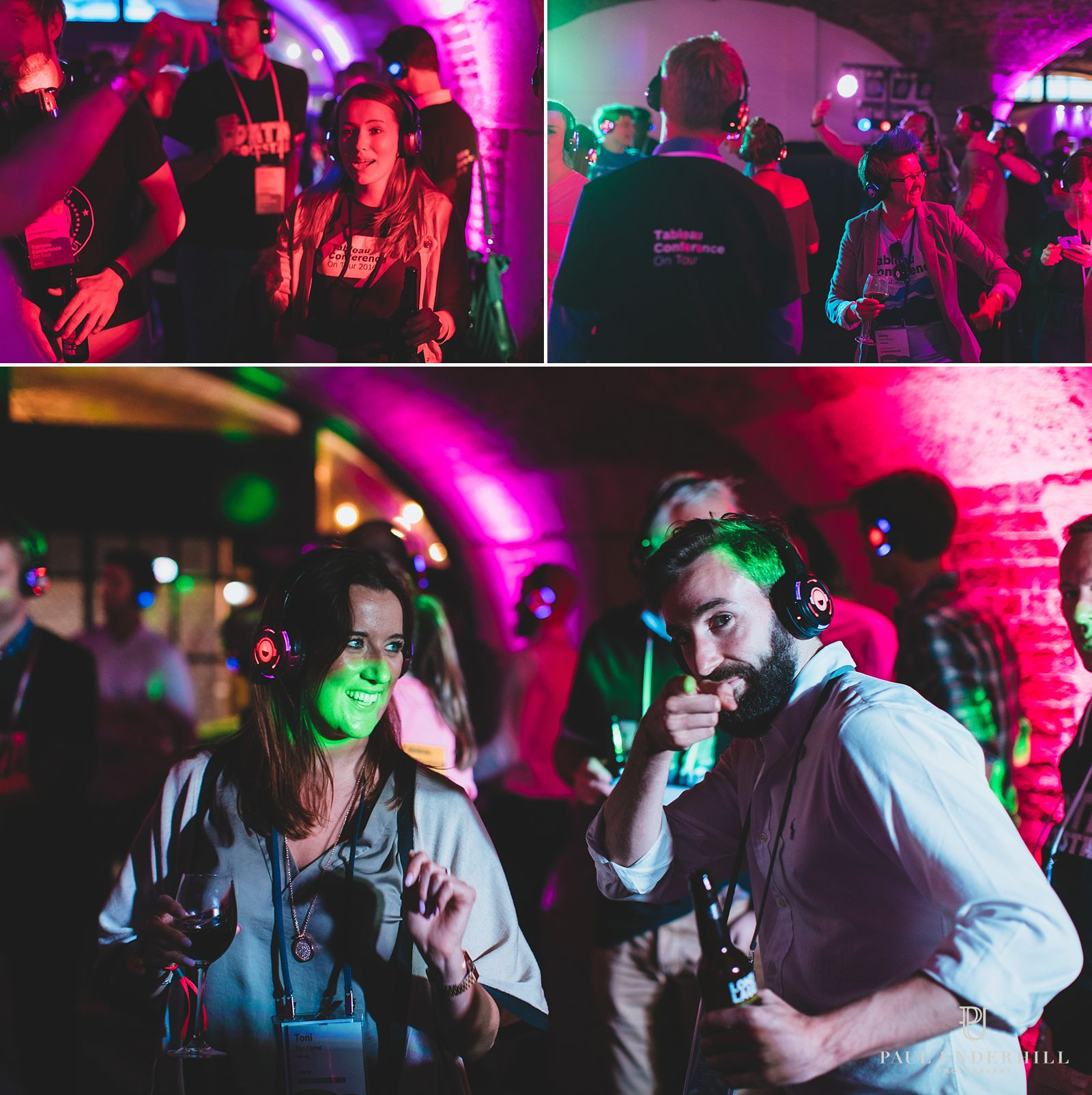 Tabacco Dock conference silent disco