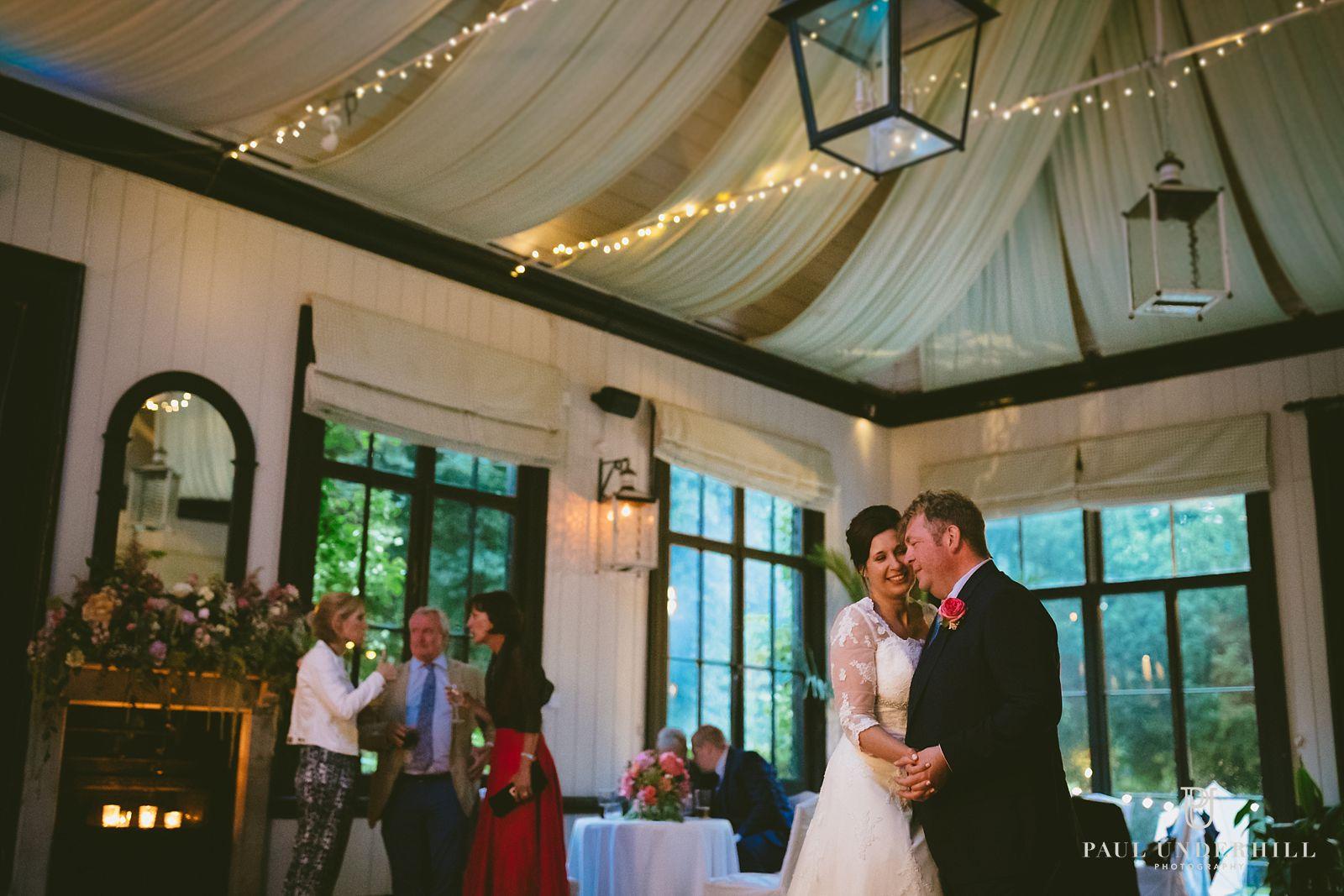 Wedding photography at Larmer Tree gardens