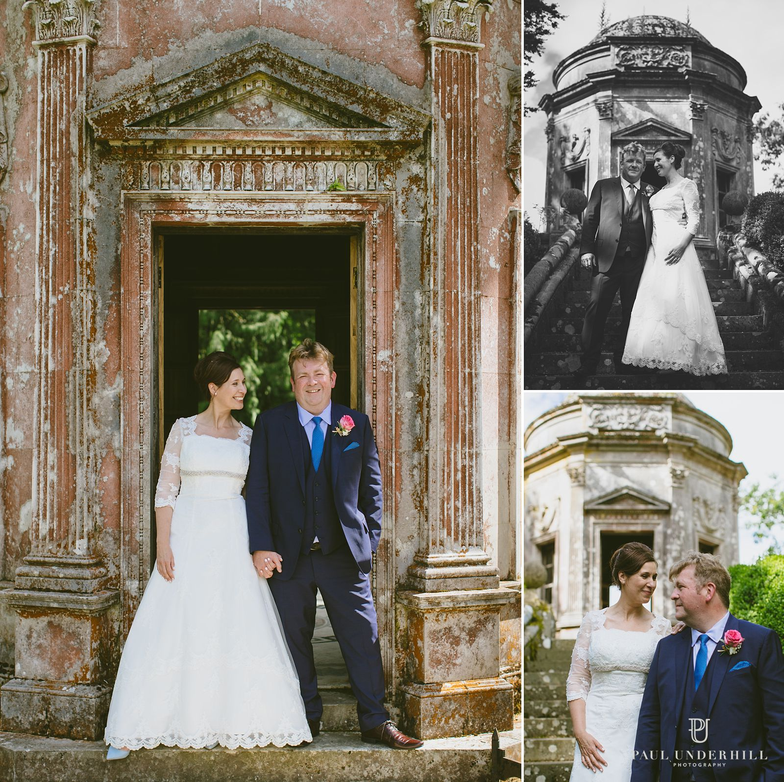 Wedding portraits Larmer Tree