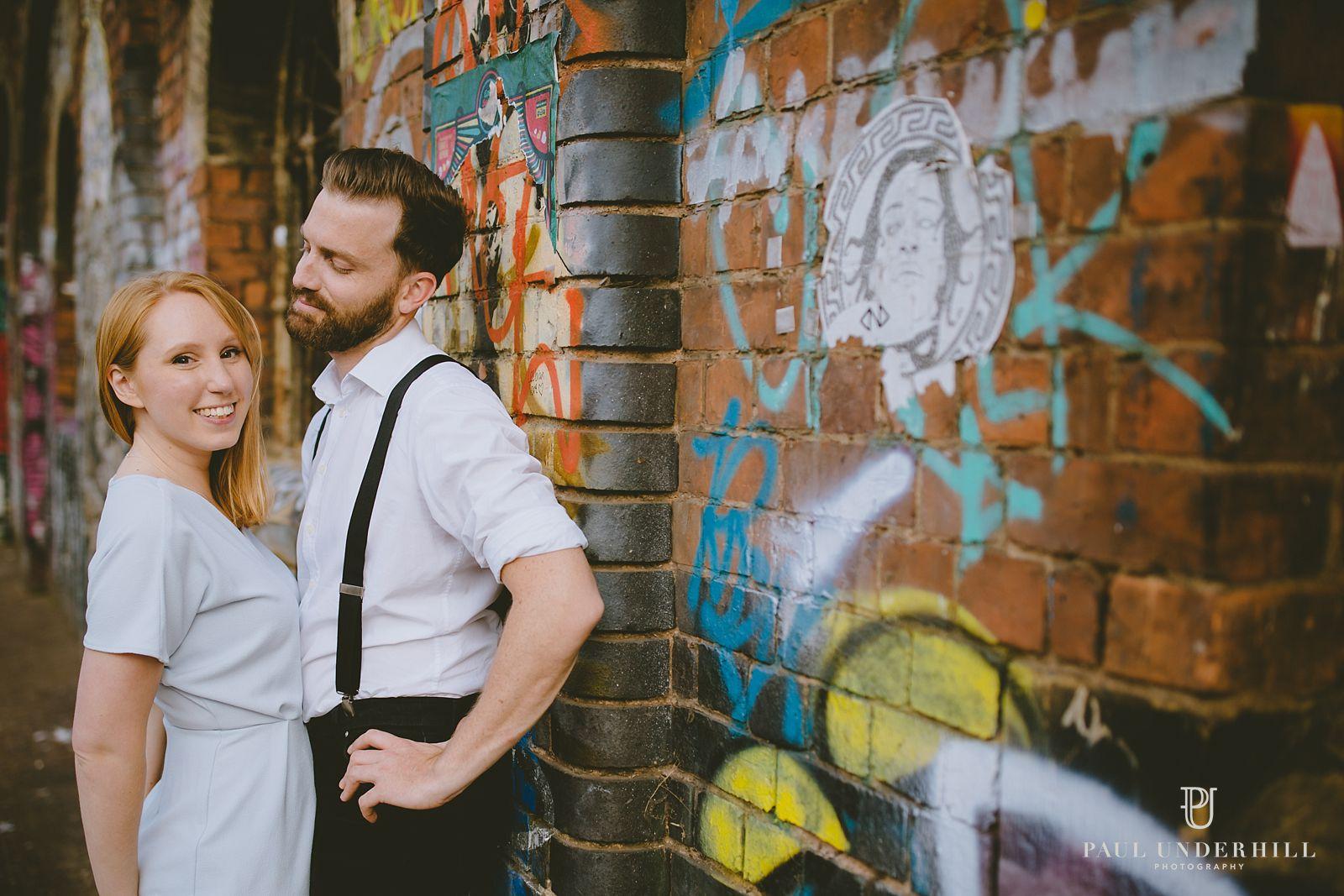 Alternative pre-wedding shoot