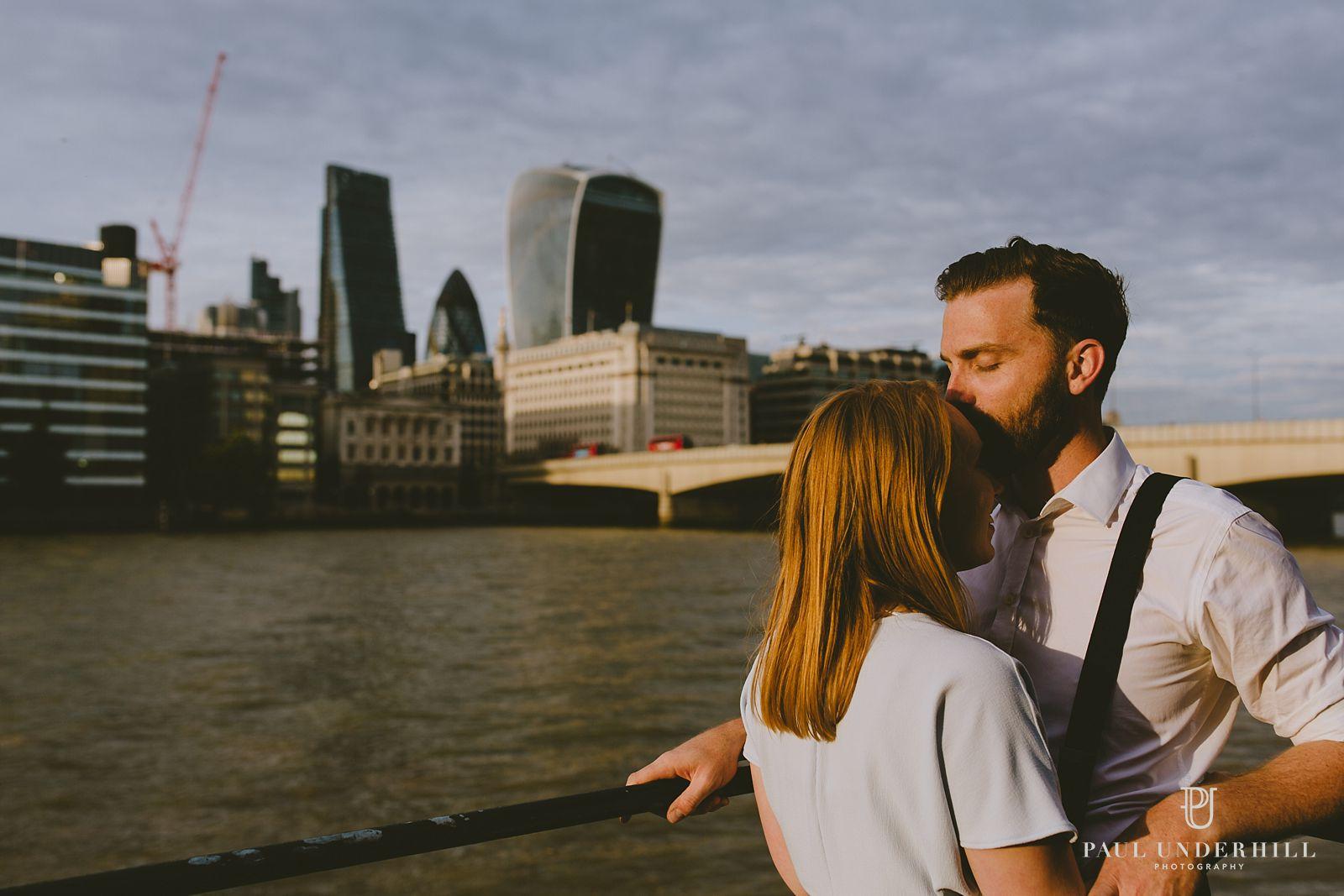 London cityscape portrait skyline