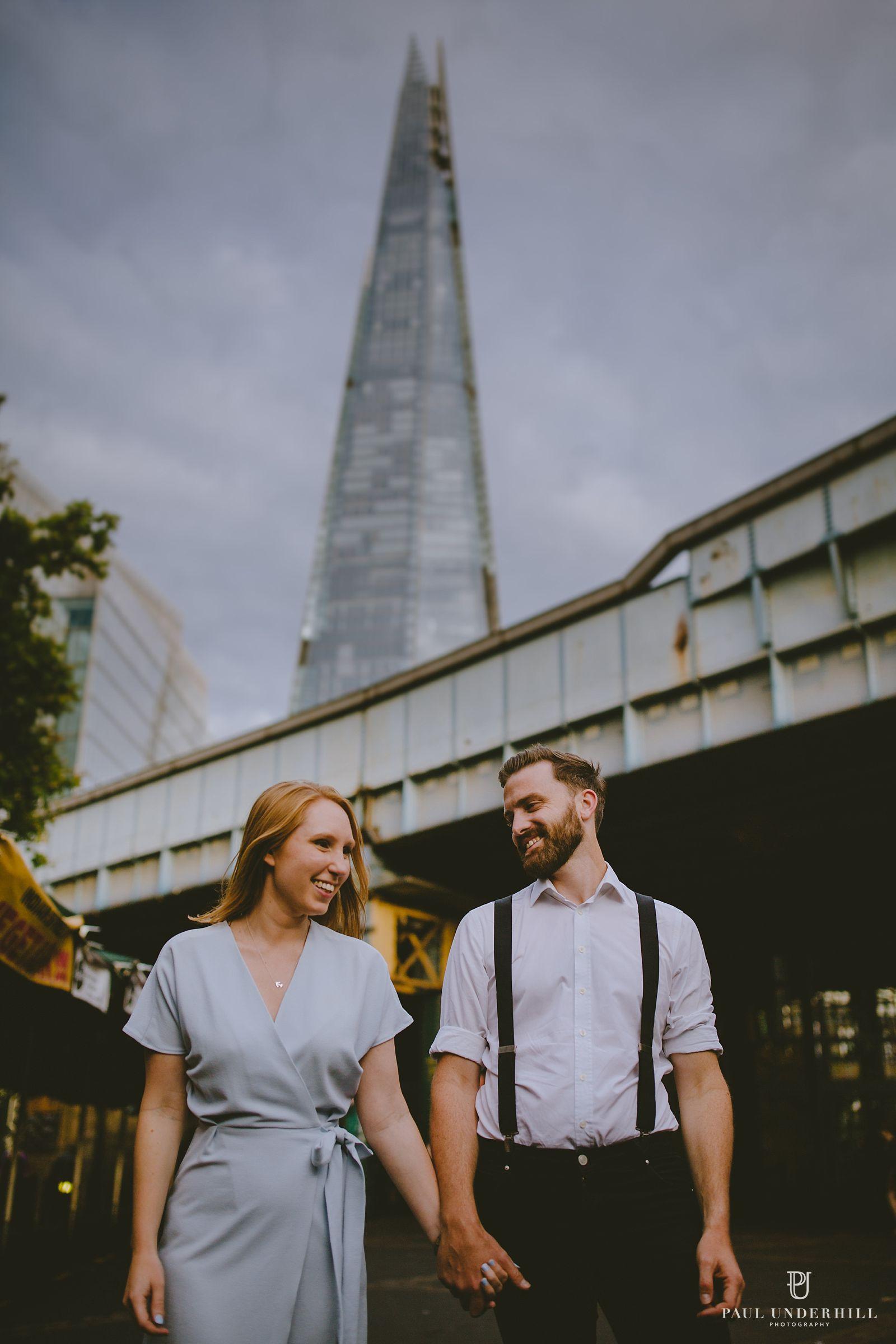 London cityscape portrait