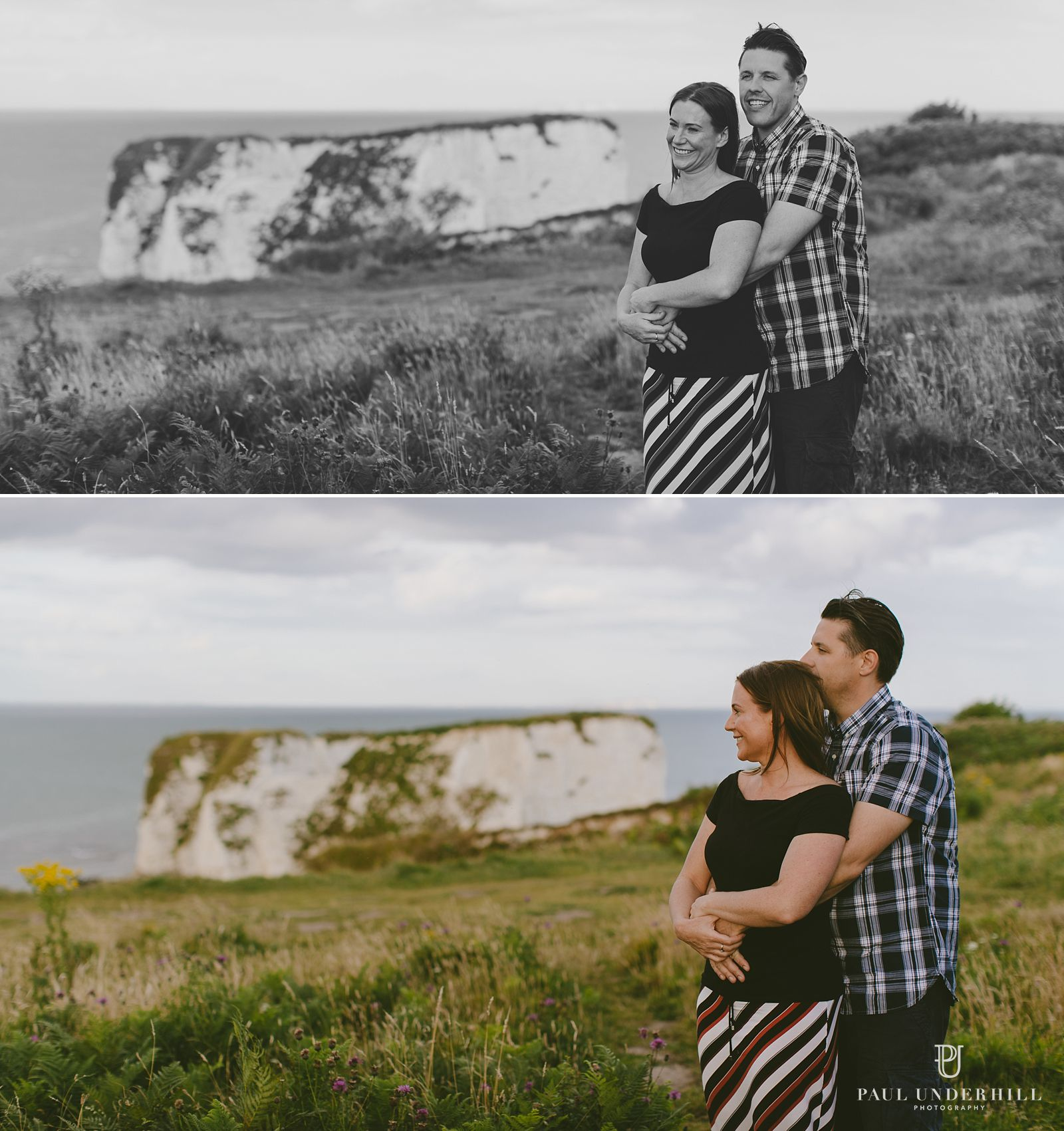 Romantic couple portraits in Dorset