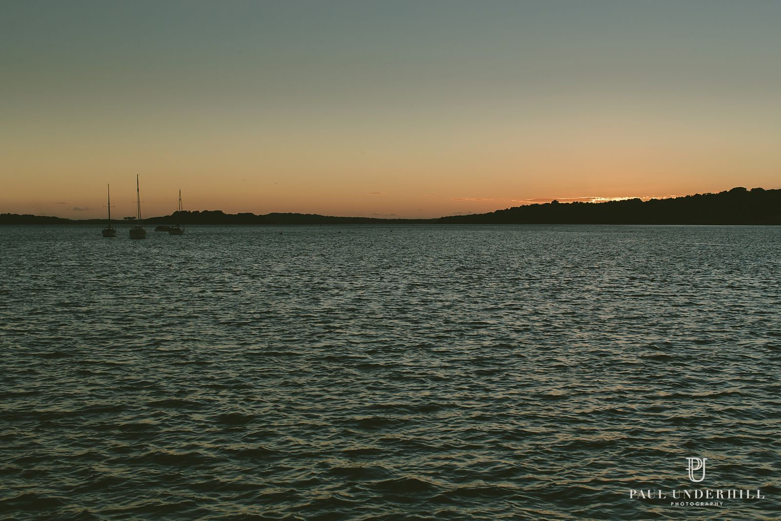 Sunset over Poole