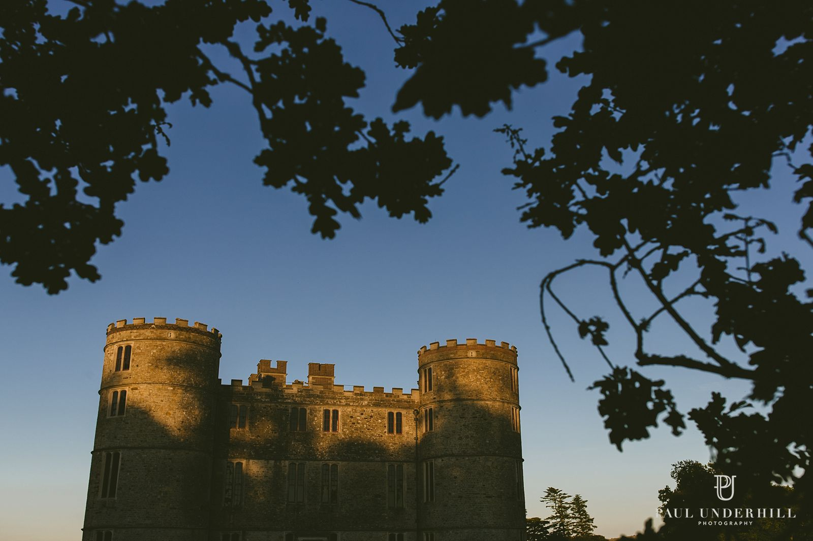 lulworth-castle-at-sunset