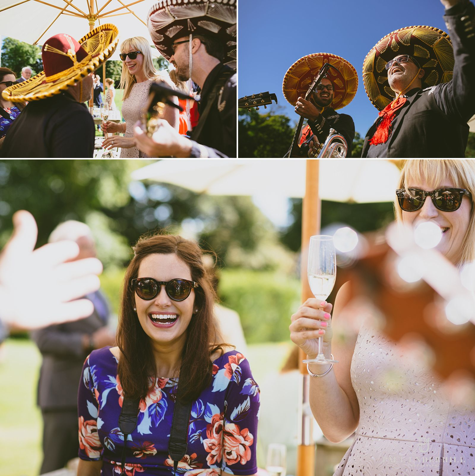 mexican-wedding-band-at-lulworth-castle