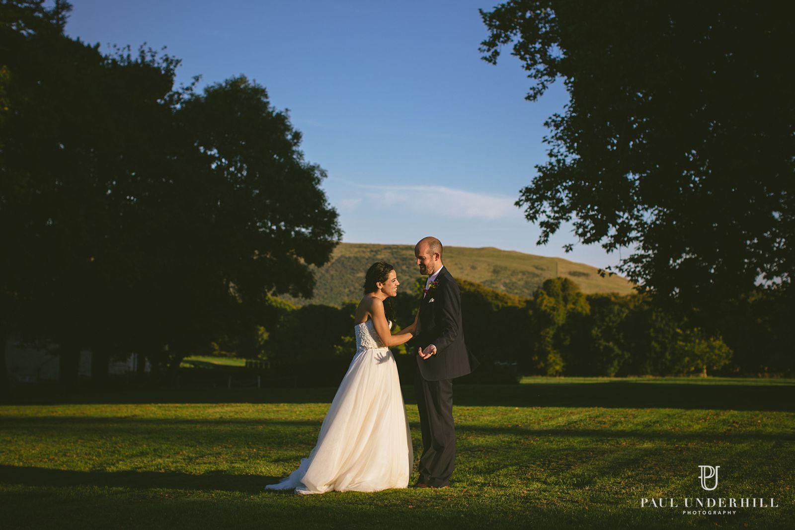 sunset-wedding-portrait-lulworth-castle