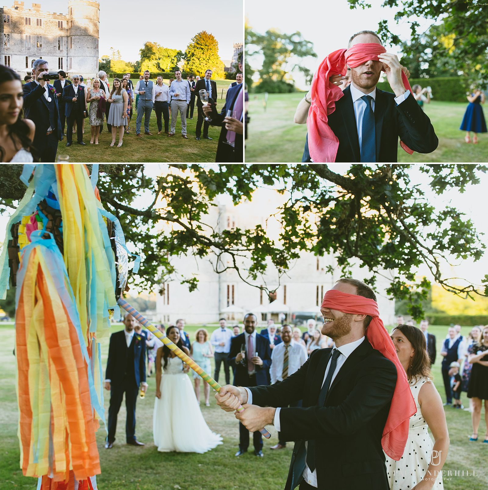 wedding-games-lulworth-castle