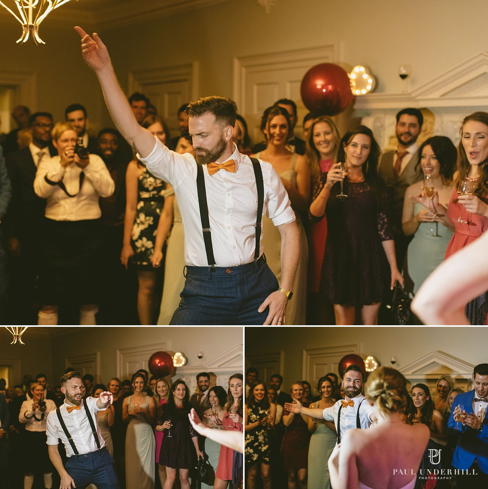 groom-dancing-morden-hall-wedding