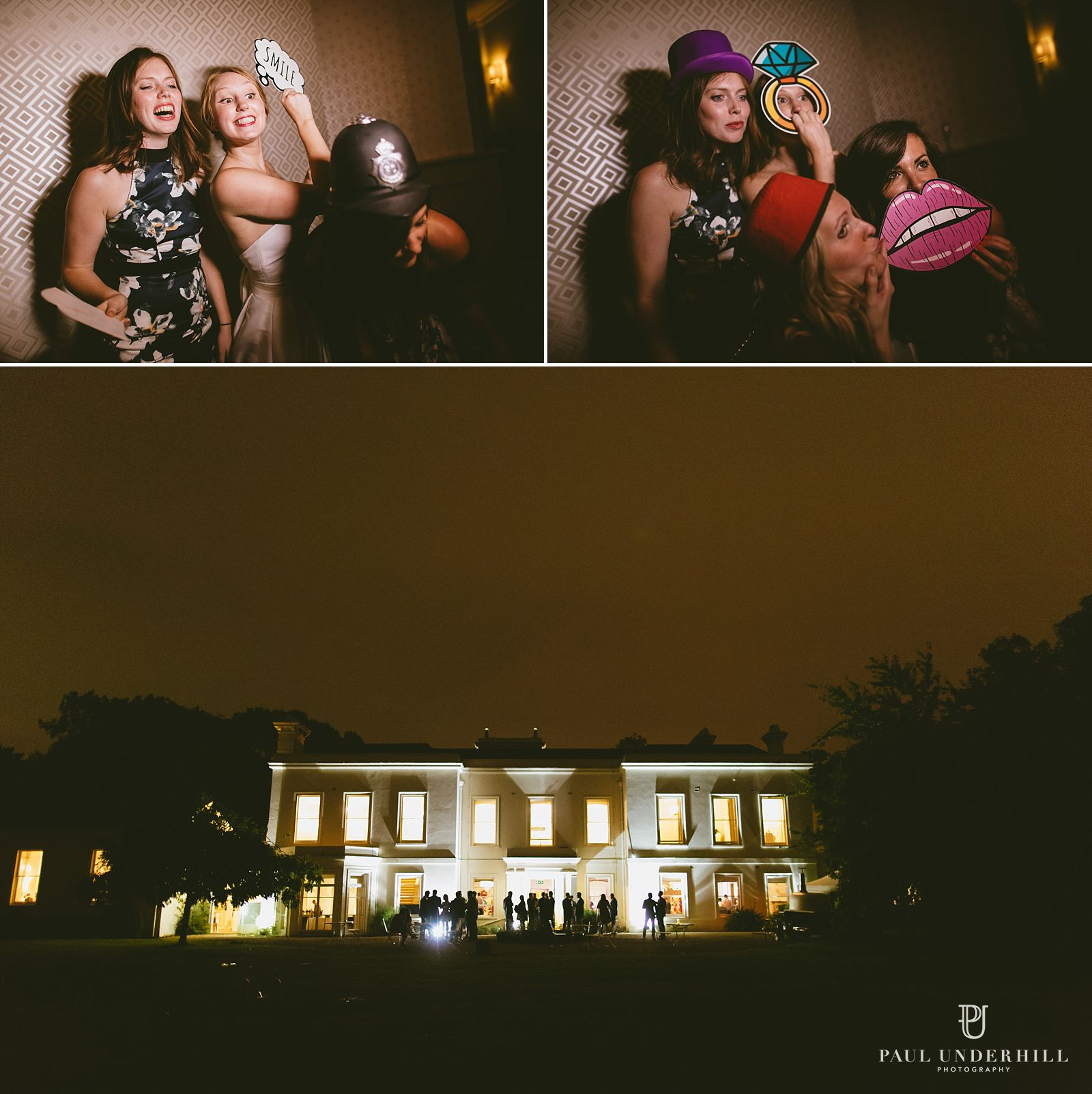 morden-hall-london-wedding-at-night