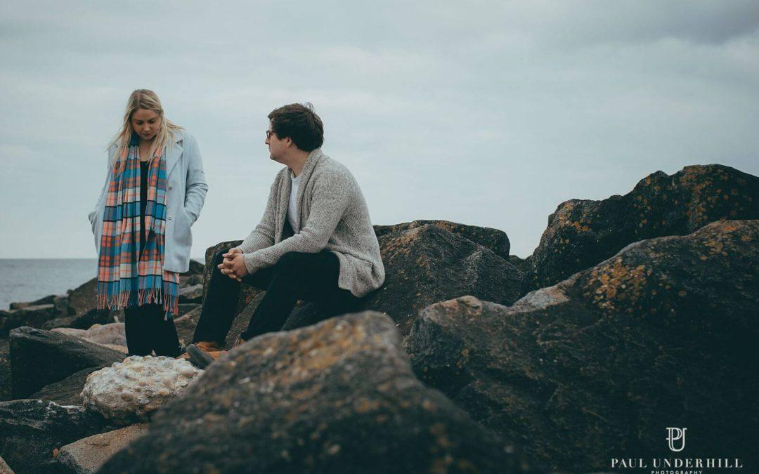 Bridport pre-wedding shoot | Emily+Mike