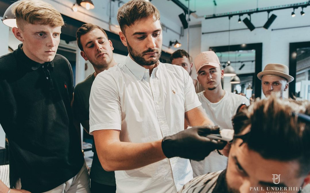 Bournemouth commercial photographer   Promotional photography Mint Barbers