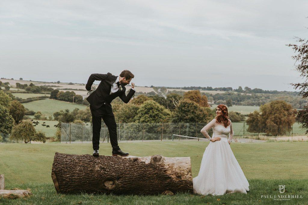 Knighton House wedding photography