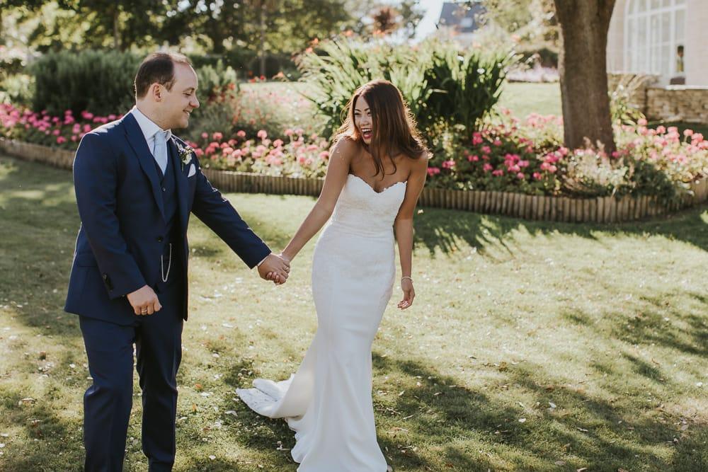 Penn Castle wedding photography in Dorset
