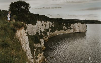 Elopement wedding photography Dorset | Jurassic coast destination wedding
