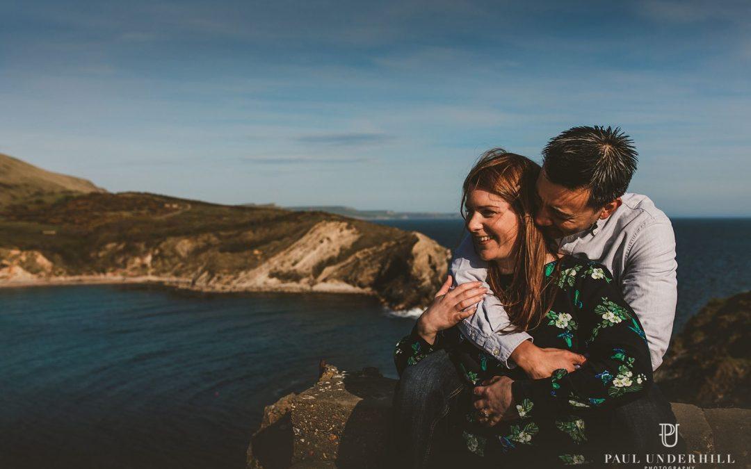 Lulworth weddings Dorset | Pre-wedding shoot | Louise+Q