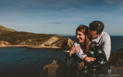 Lulworth weddings Dorset | Pre-wedding shoot | Louise+Q