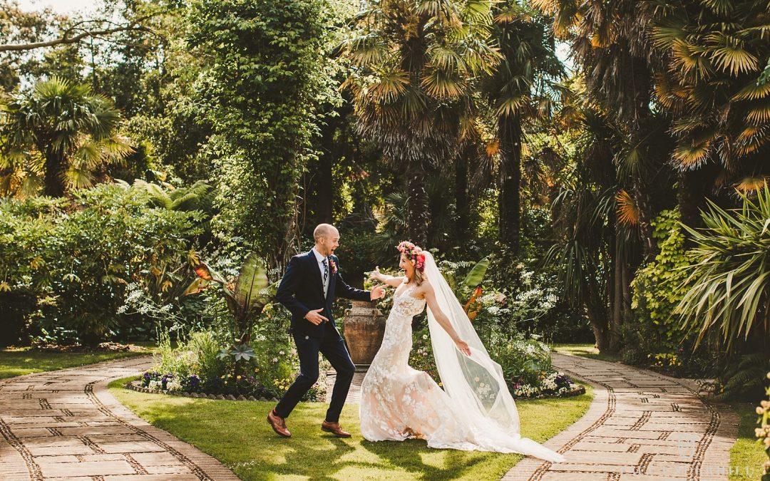Abbotsbury Subtropical Gardens wedding Dorset | Fran+Luke