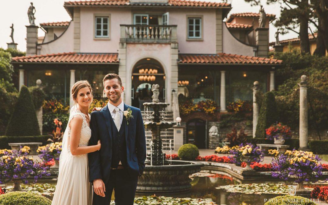 The Italian Villa Poole wedding | Hannah+Rob