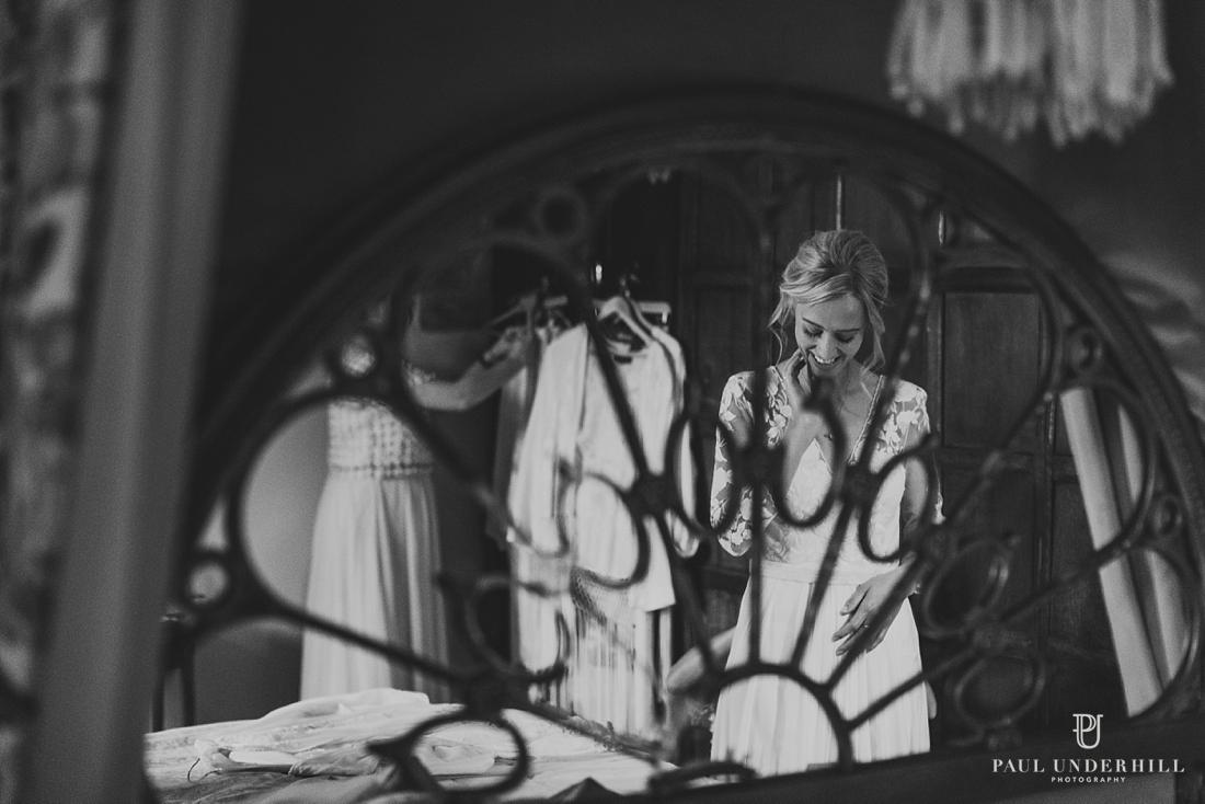 Creative documentary wedding photography Larmer Tree