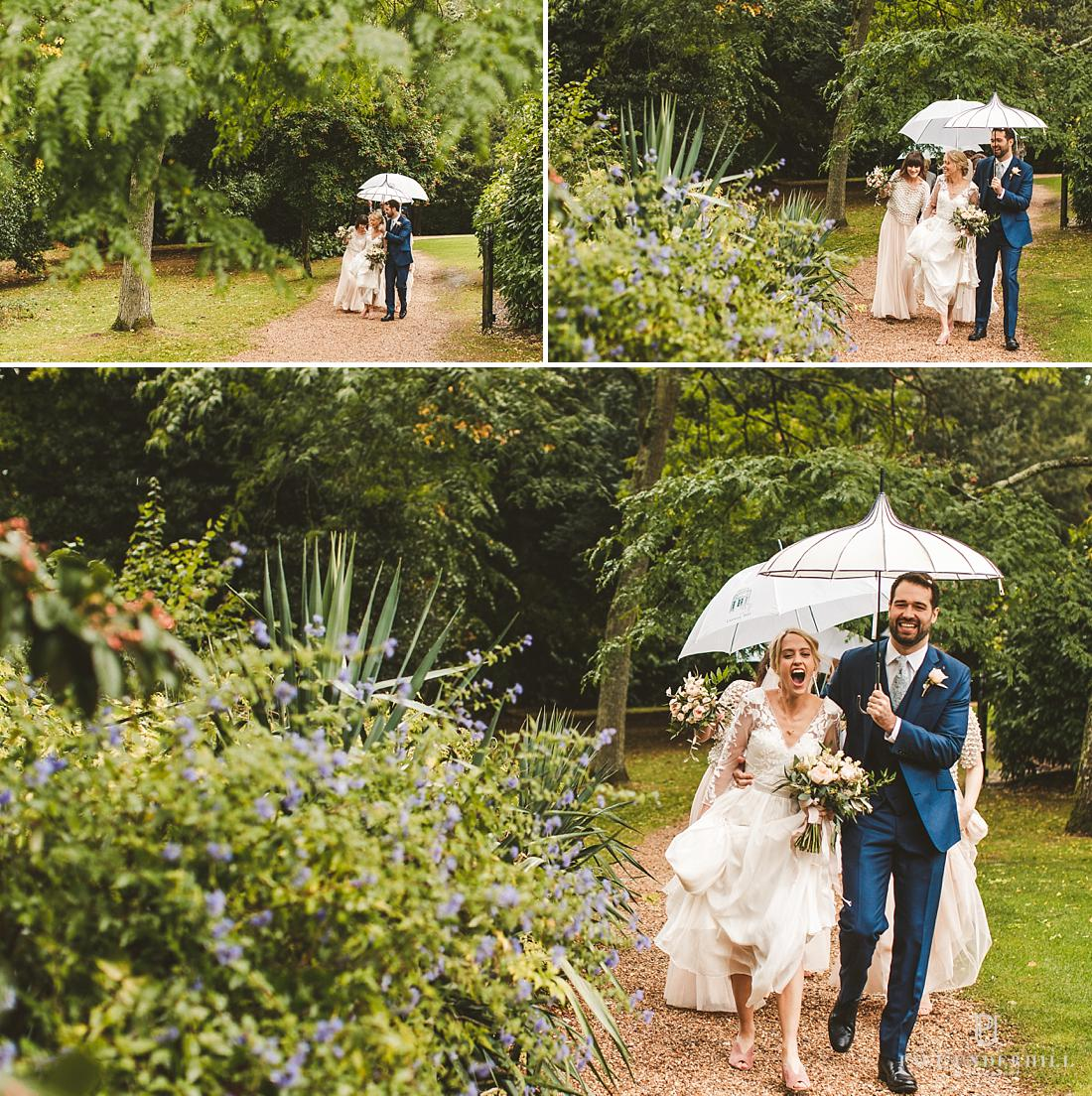 Wedding photography Larmer Tree