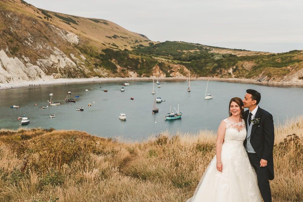 Dorset wedding photography at Knighton House Blandford