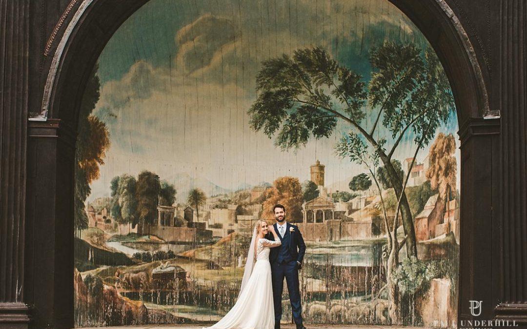 Larmer Tree Gardens Wiltshire wedding | Amy+Will