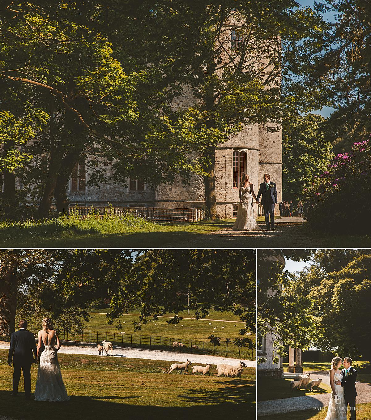 Dorset wedding Lulworth Castle