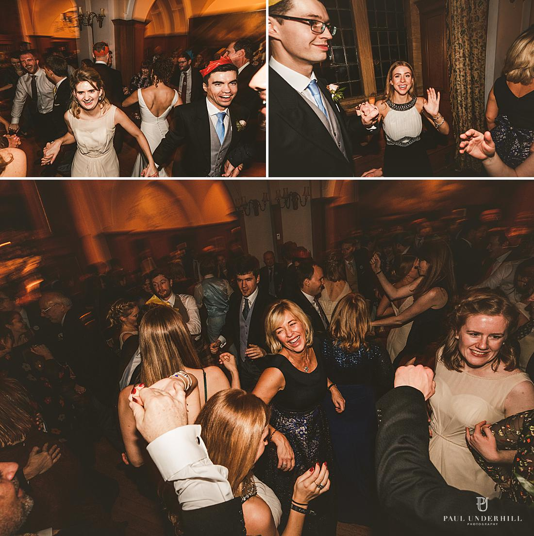 Ceilidh dancing Minterne House wedding Dorset