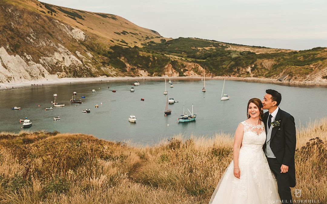 Lulworth Cove wedding photography Dorset | Louise+Q