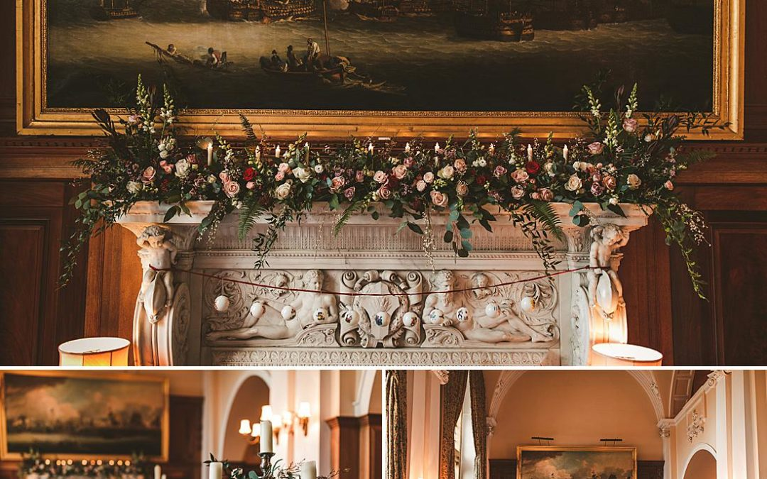Minterne House Dorset Christmas wedding | Olivia+Josh