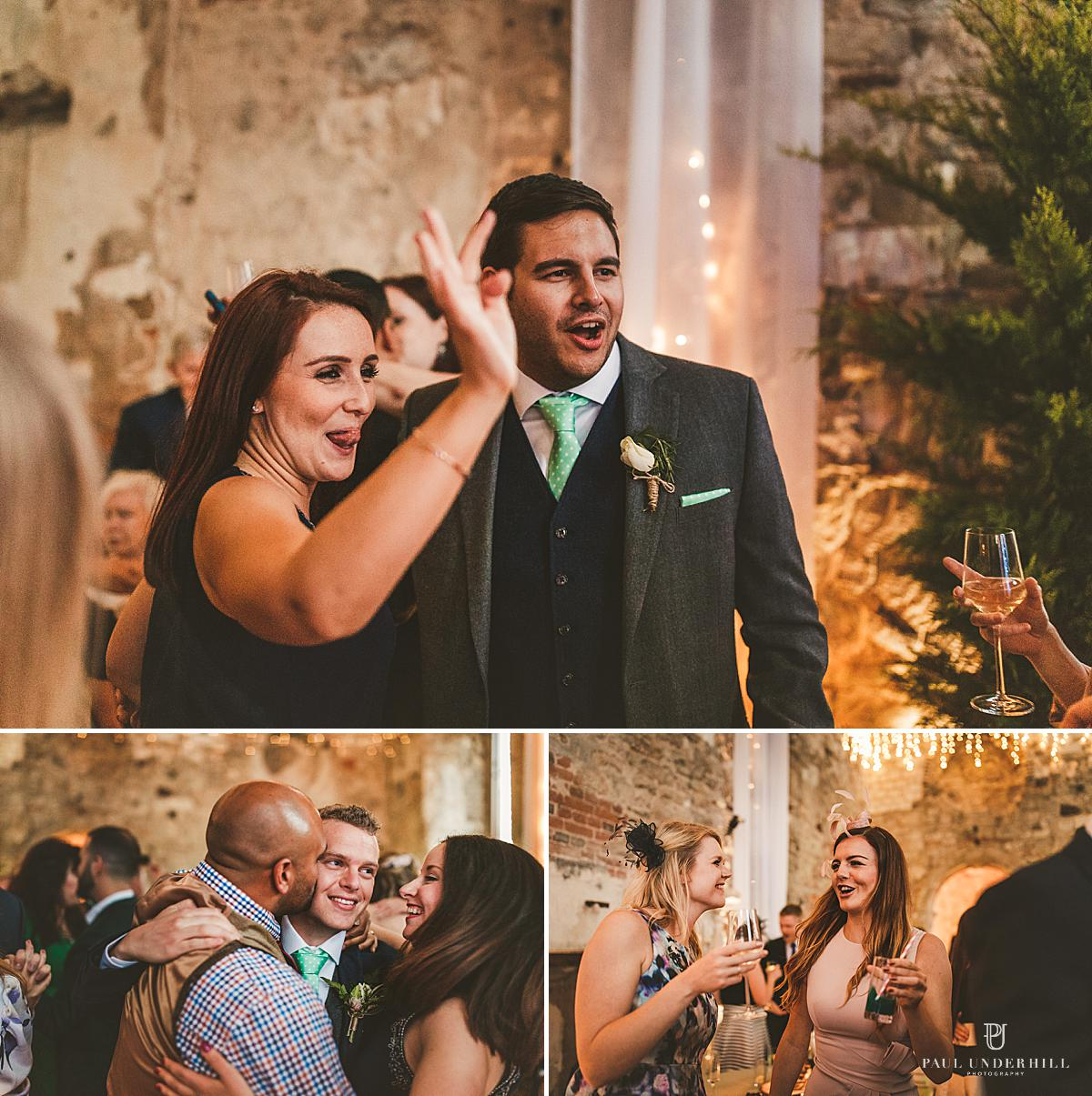 First dance Lulworth Castle wedding