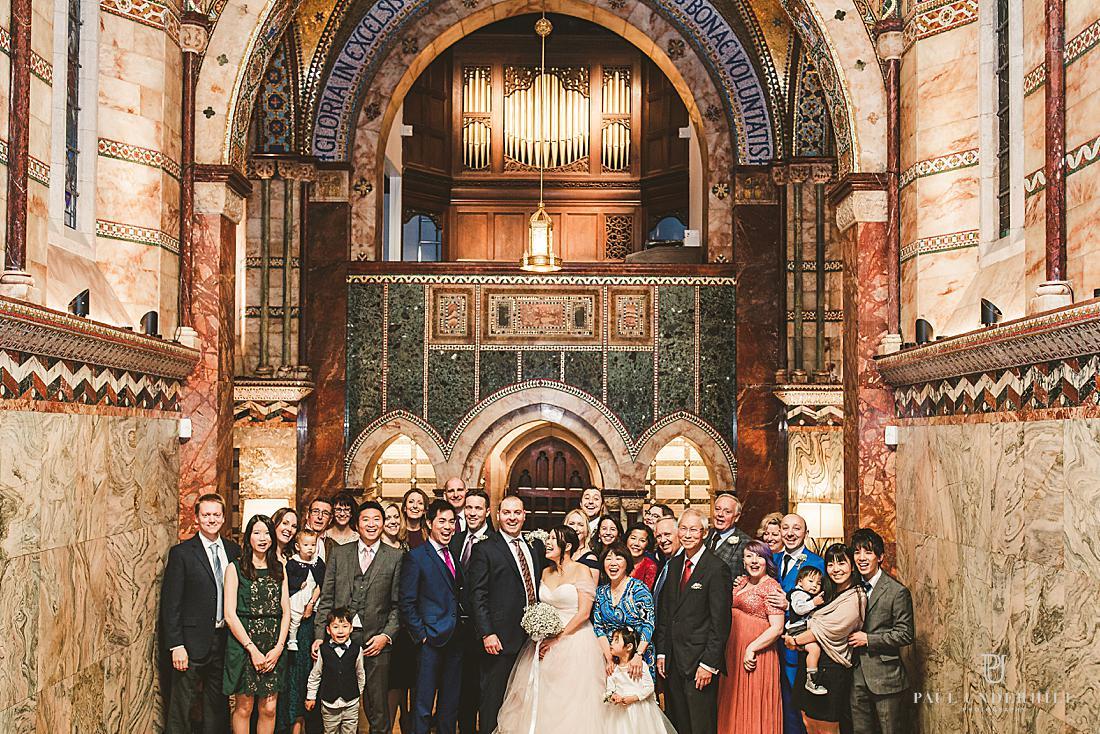Fitzrovia Chapel wedding London