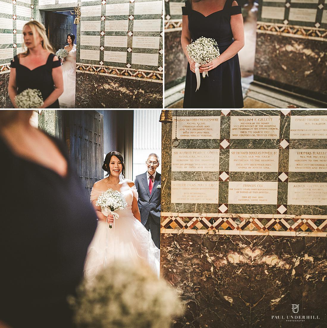 London wedding photographer Fitzrovia Chapel