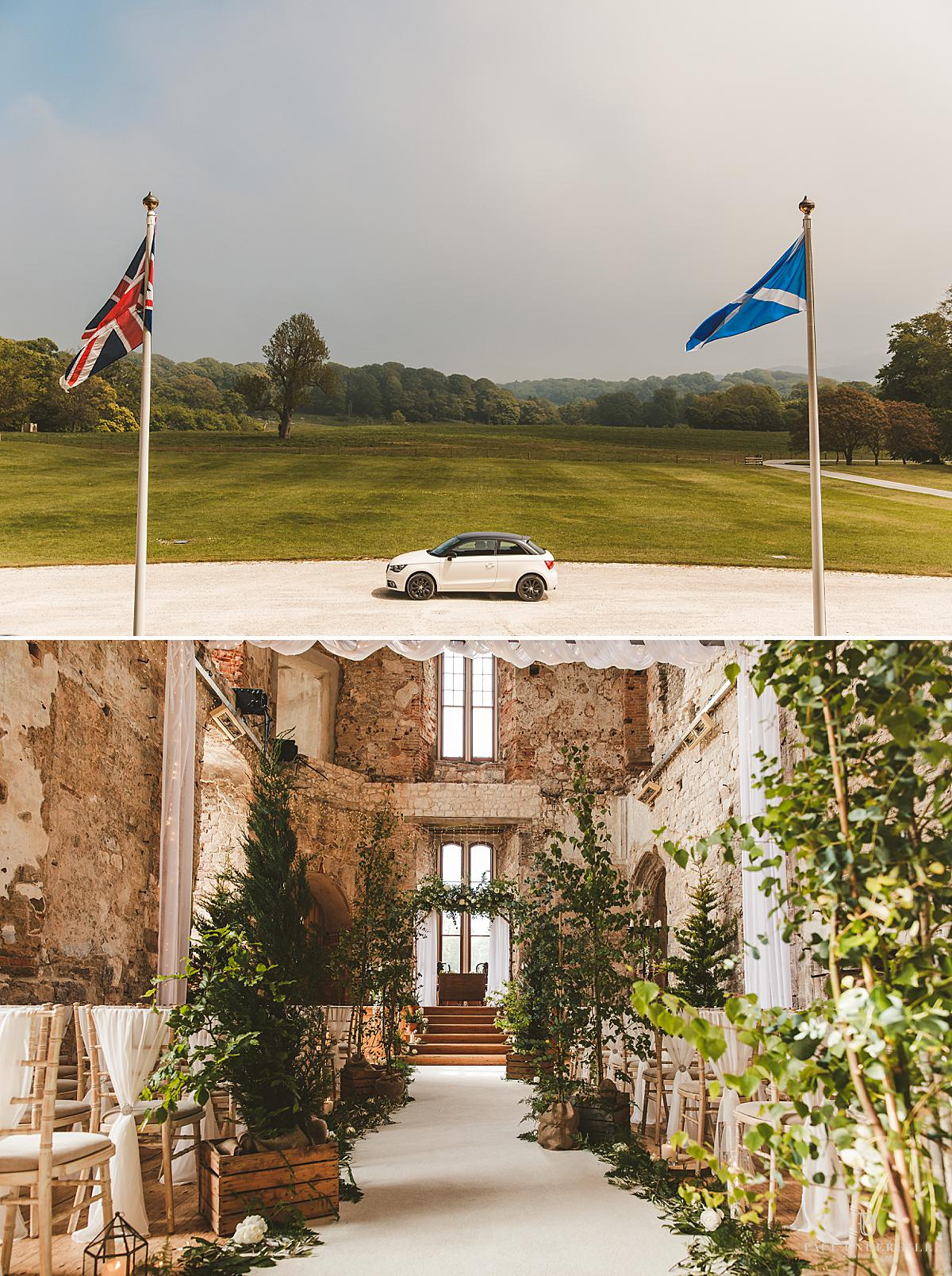 Lulworth Castle wedding photographer