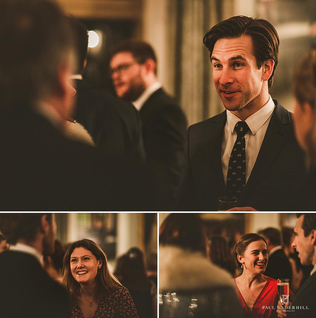 Creative low light wedding documentary photography