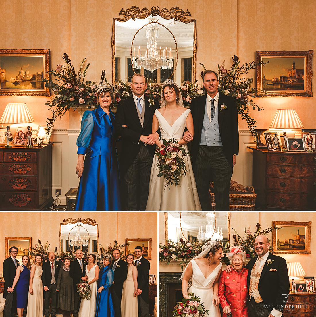 Wedding portraits Minterne House Dorset