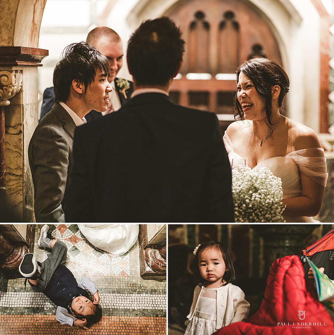 Winter wedding in London