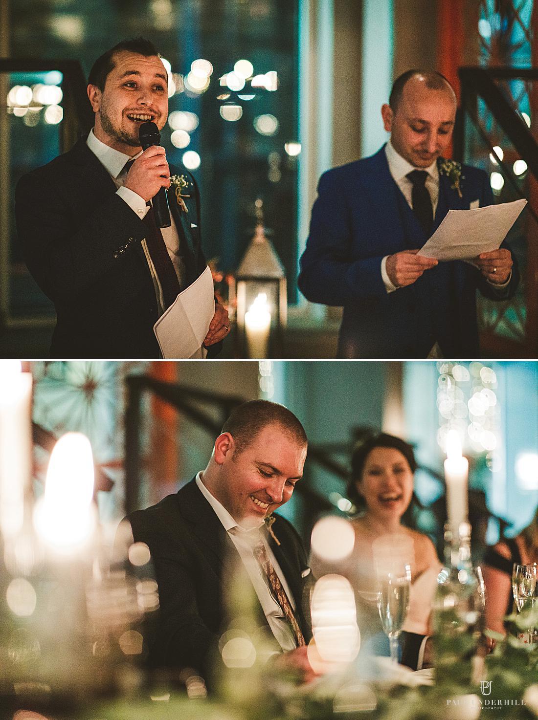 Wedding speeches London