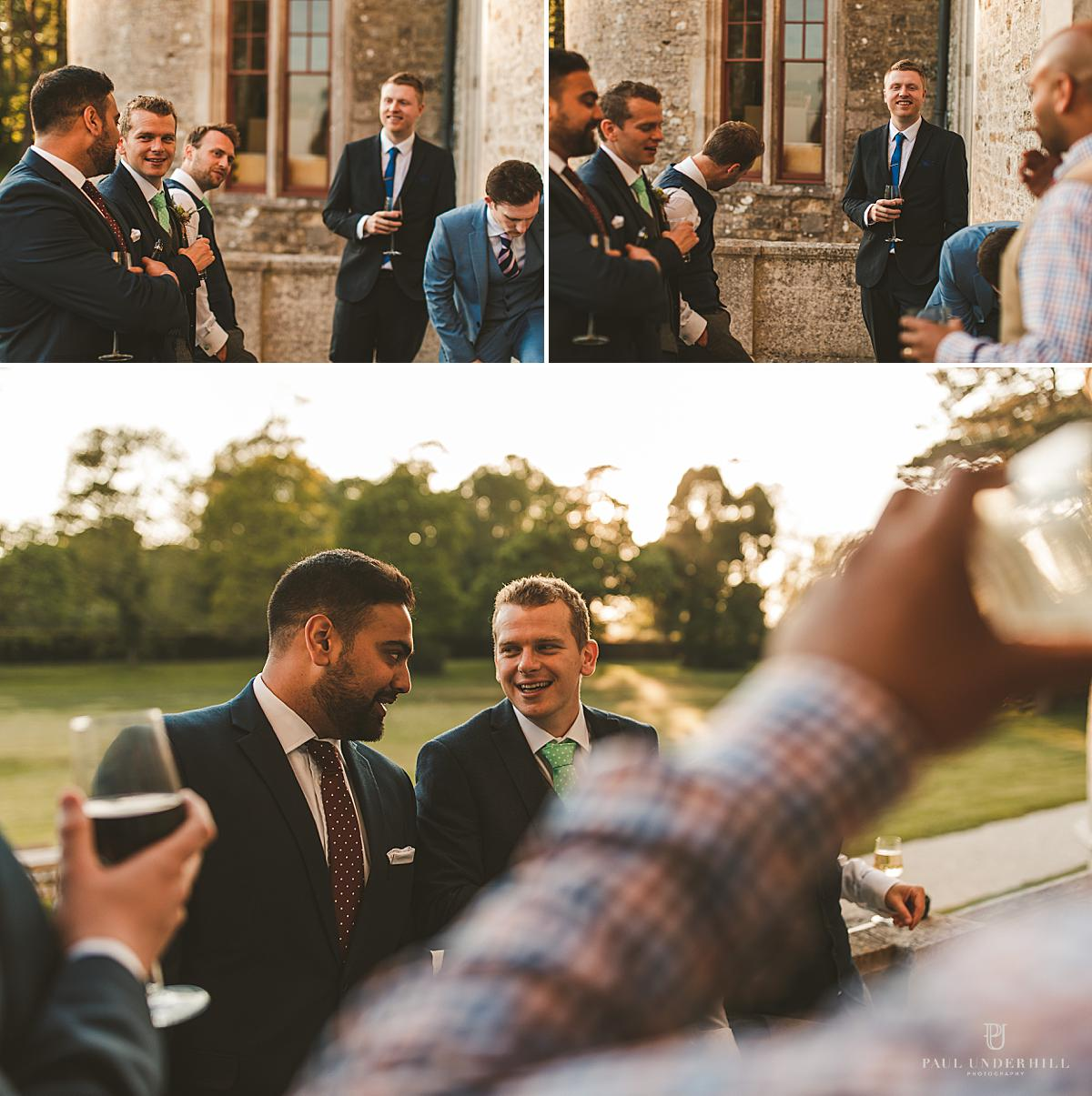 Lulworth Castle wedding portraits