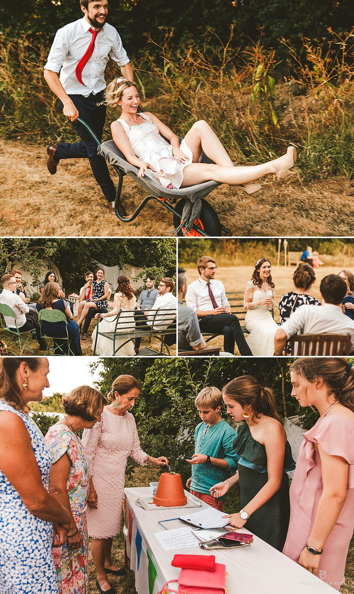 Alternative wedding photography Dorset
