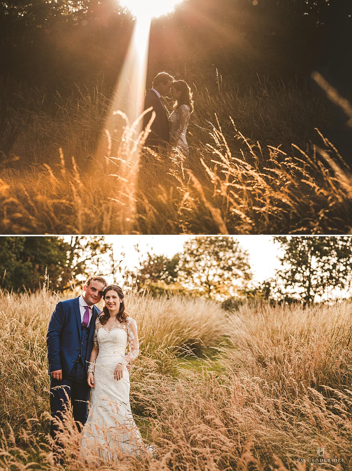 Creative bride groom-portraits Dorset photographer