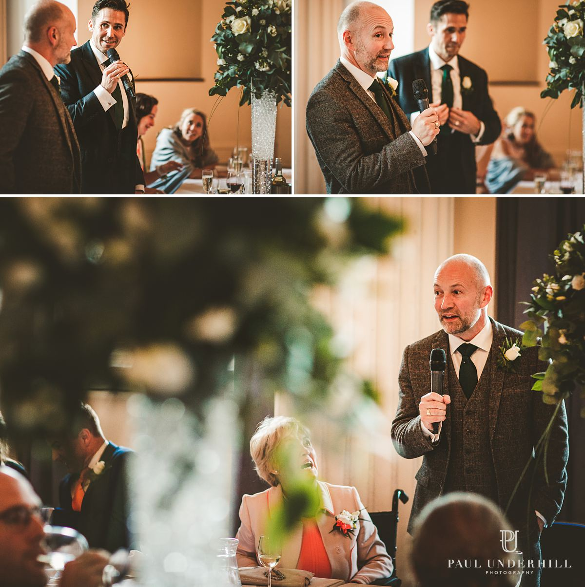 Creative documentary photography gay wedding