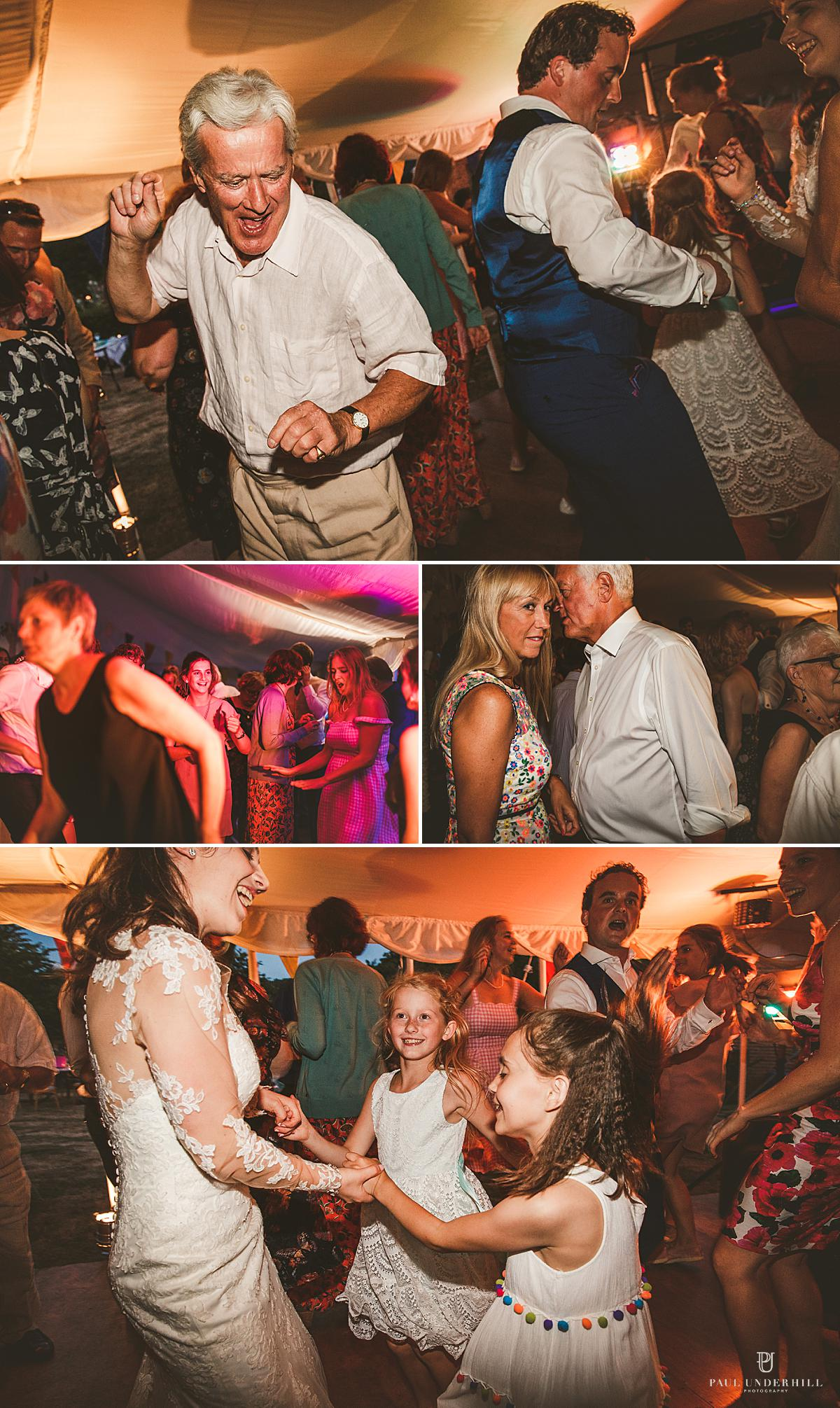 Documentary photography wedding reception