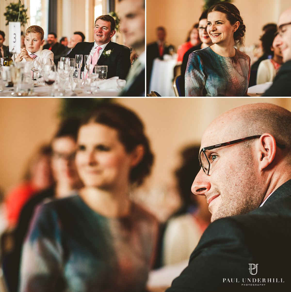 Documentary photography wedding speeches