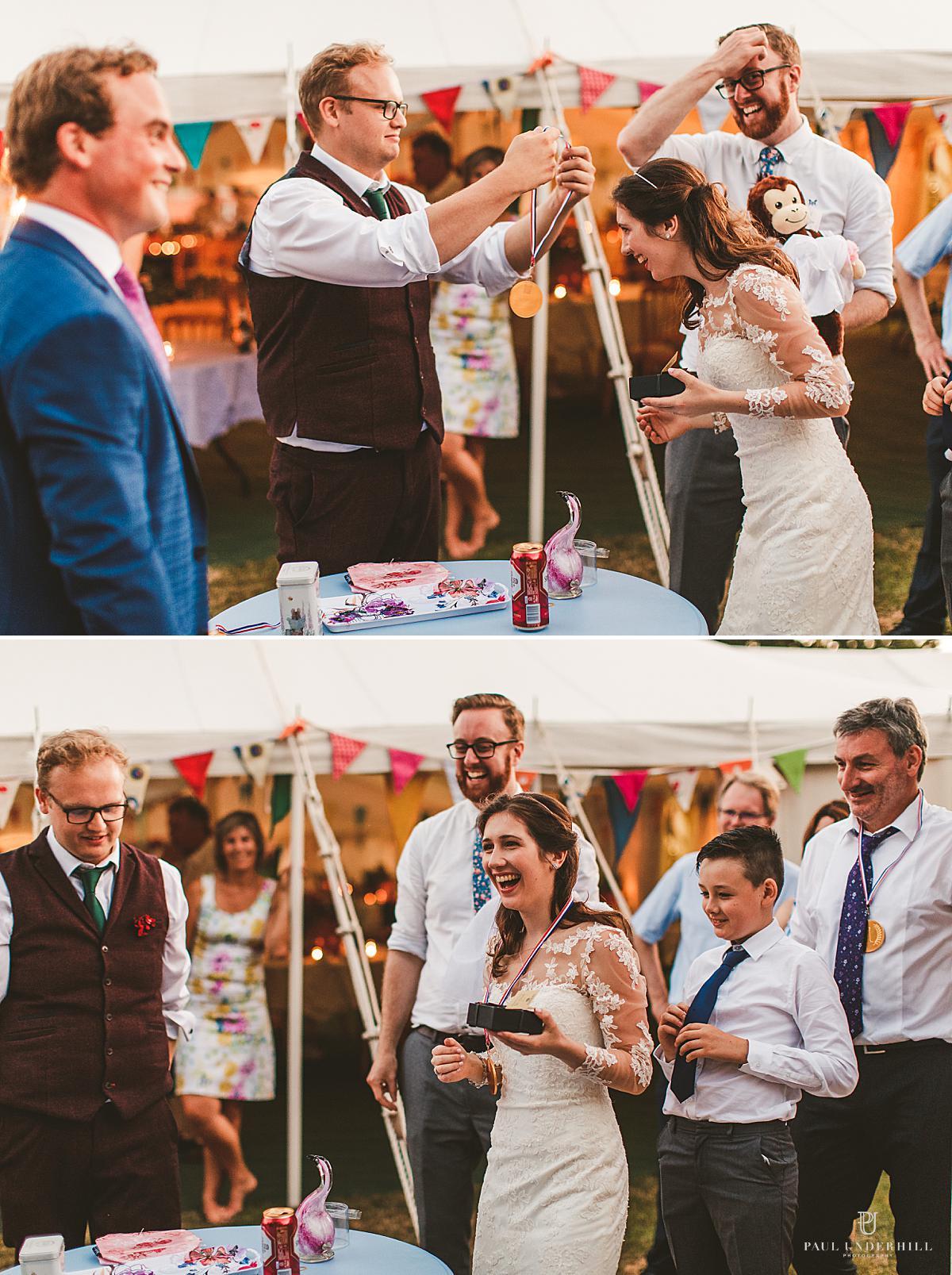Dorset alternative wedding outdoor homespun