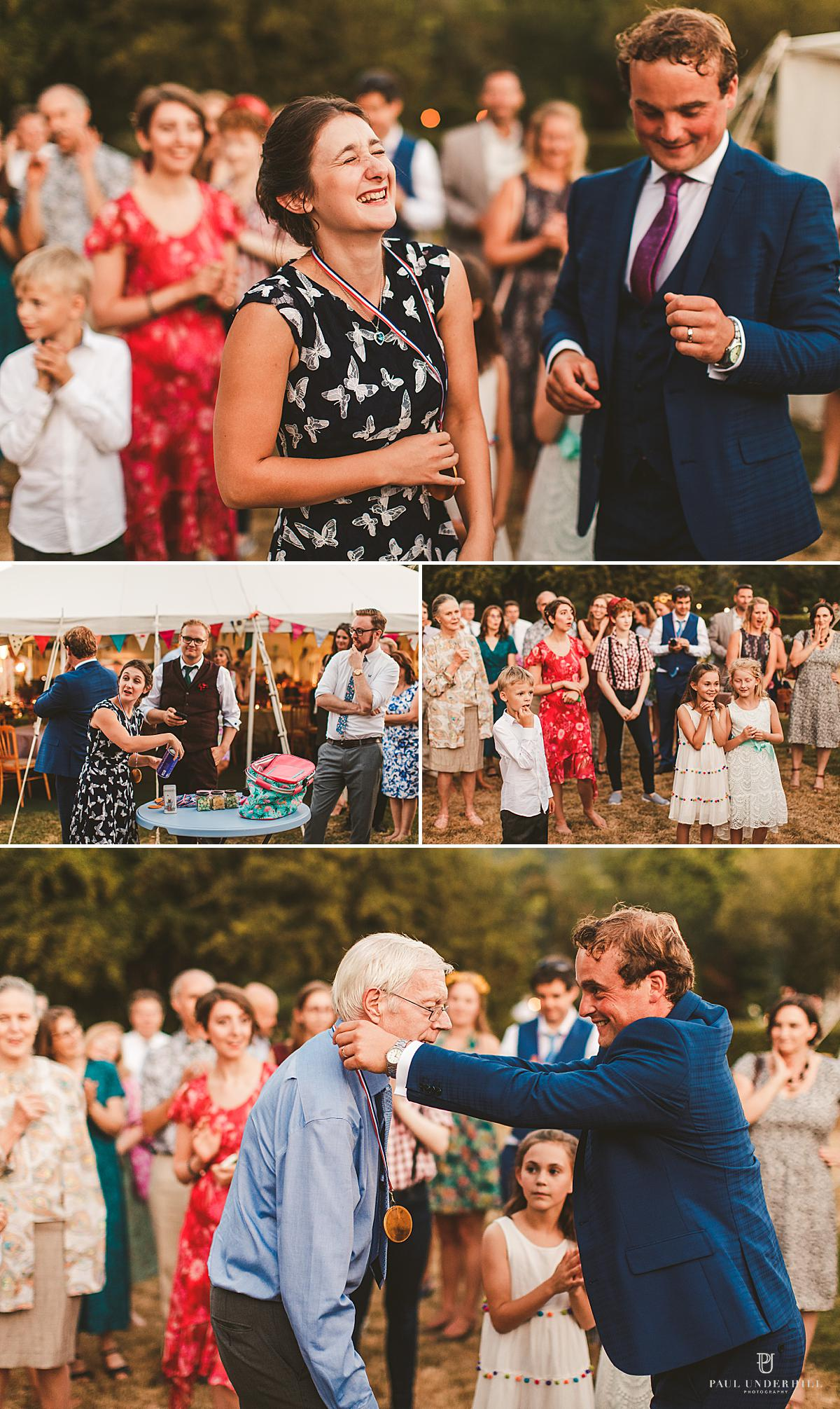 Dorset alternative wedding outdoor homespun