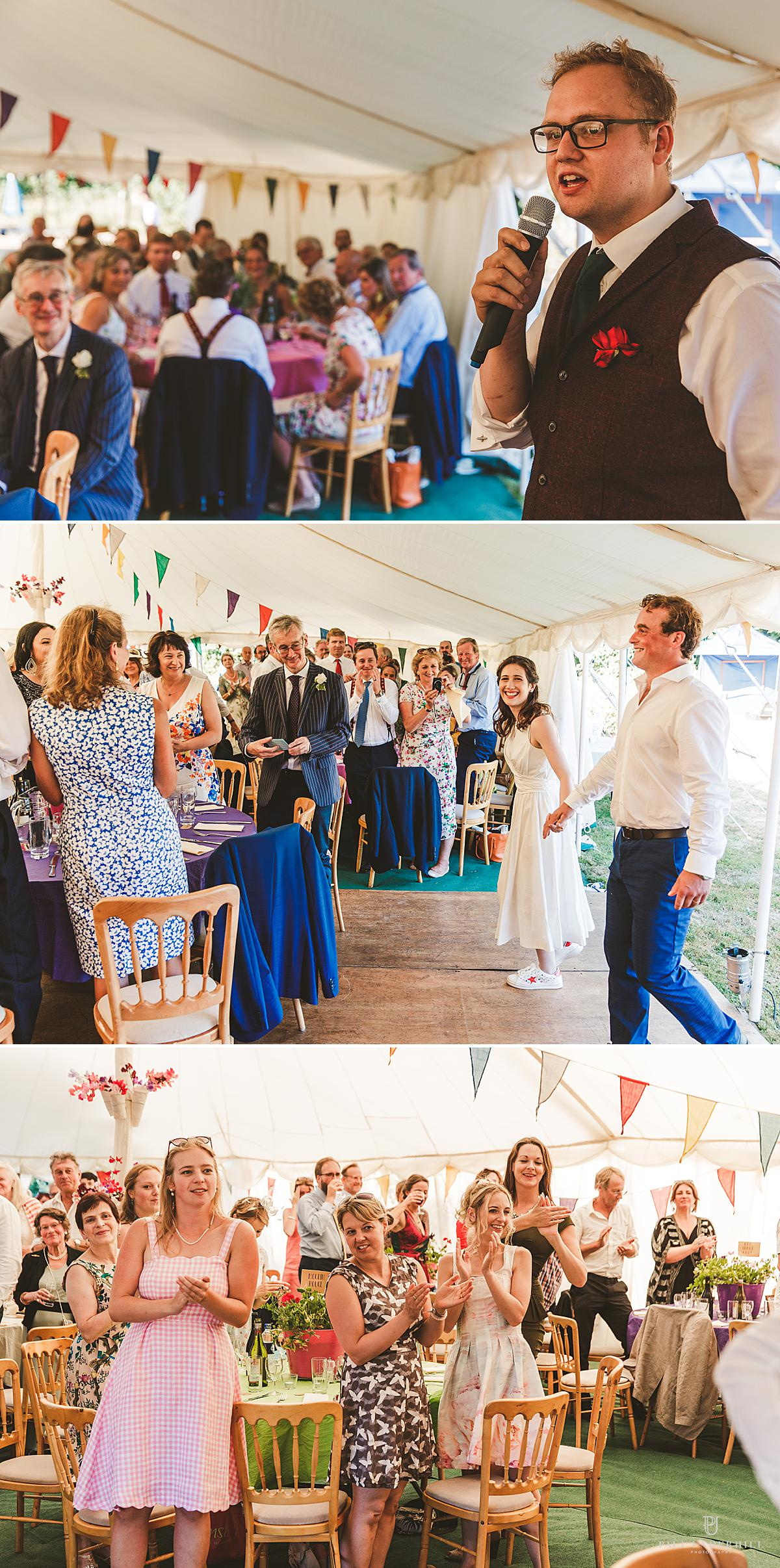 Dorset wedding photography outdoor wedding